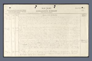 War Diary Extract for 8th Battalion, Royal West Surrey Regiment - 26 March 1918