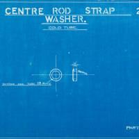 """Centre rod strap washer"""