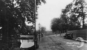 Wandle Bridge. Sutton Road(now called Bishopsford Road