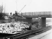 Mitcham Junction Bridge, Carshalton Road. New bridge