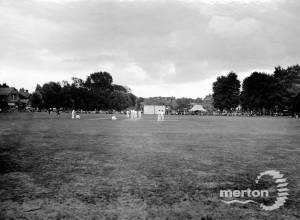 The Cricket Green,  looking SE