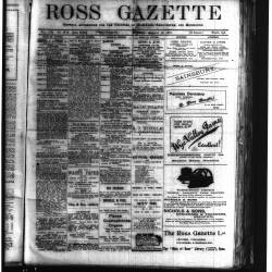 Ross Gazette 1919