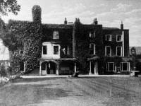 Gatehouse,  Merton High Street: Rear view