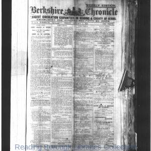 Berkshire Chronicle Reading 1916