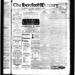 Hereford Mercury - 1918