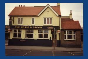 Horse & Groom, Tamworth Lane / Manor Road: Side View