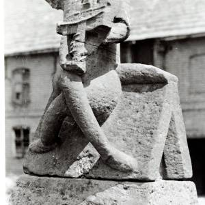 Stone Figure, Brinsop Court, Herefordshire