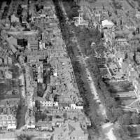 Early Ariel Photograph Lord Street Southport