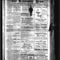 Leominster News - September 1922