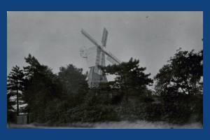Wimbledon windmill, Wimbledon Common.