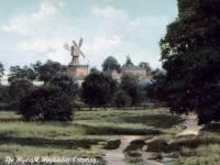 The windmill, Wimbledon Common.