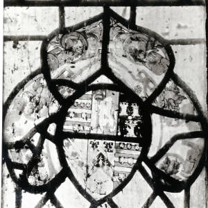 Walterstone Church, (painted glass)