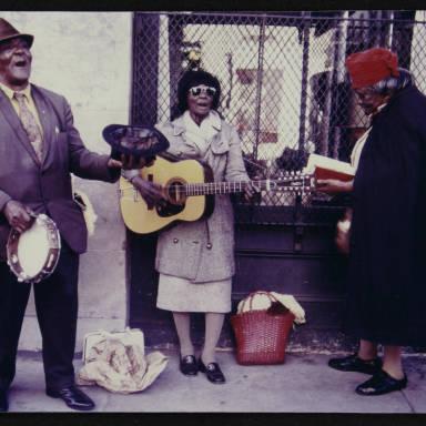 New Orleans Street Singers, 1971.