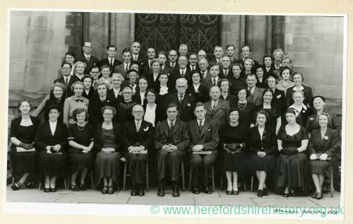 Hereford Choir, Worcester Three Choirs Festival, 1951
