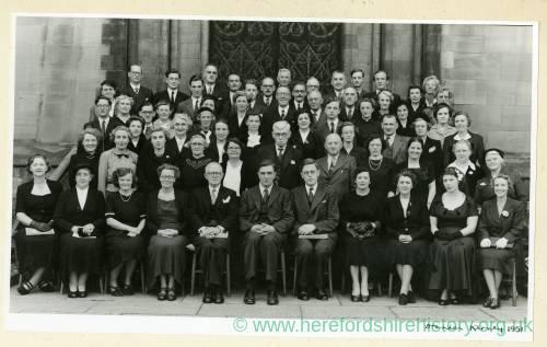 Hereford Choir, Worcester Three Choirs Festival, 1951