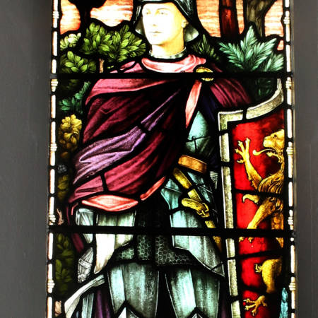 Stained Glass Window - Lt Reginald J A Palmer
