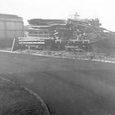 Rear of Amusement Park, South Shields