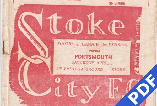 19500401 Stoke City Away