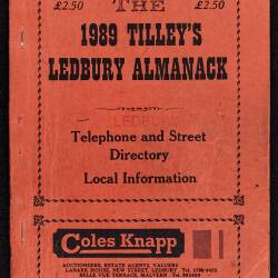 Tilley's Ledbury Almanack 1989