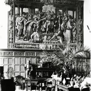 The Hall, Goodrich Court, 1898
