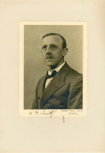 1932-33: Major Christopher George Nevatt