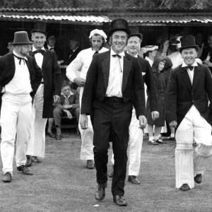 The annual cricket match between Ledbury Rostox Club and the Cranham Deeroasters.