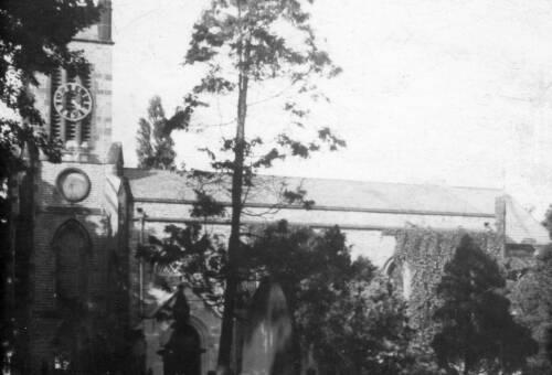 012 Scissett Church c1950