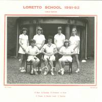 Girls Tennis 1982 1st Team