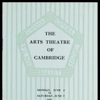 Arts Theatre of Cambridge, June 1941