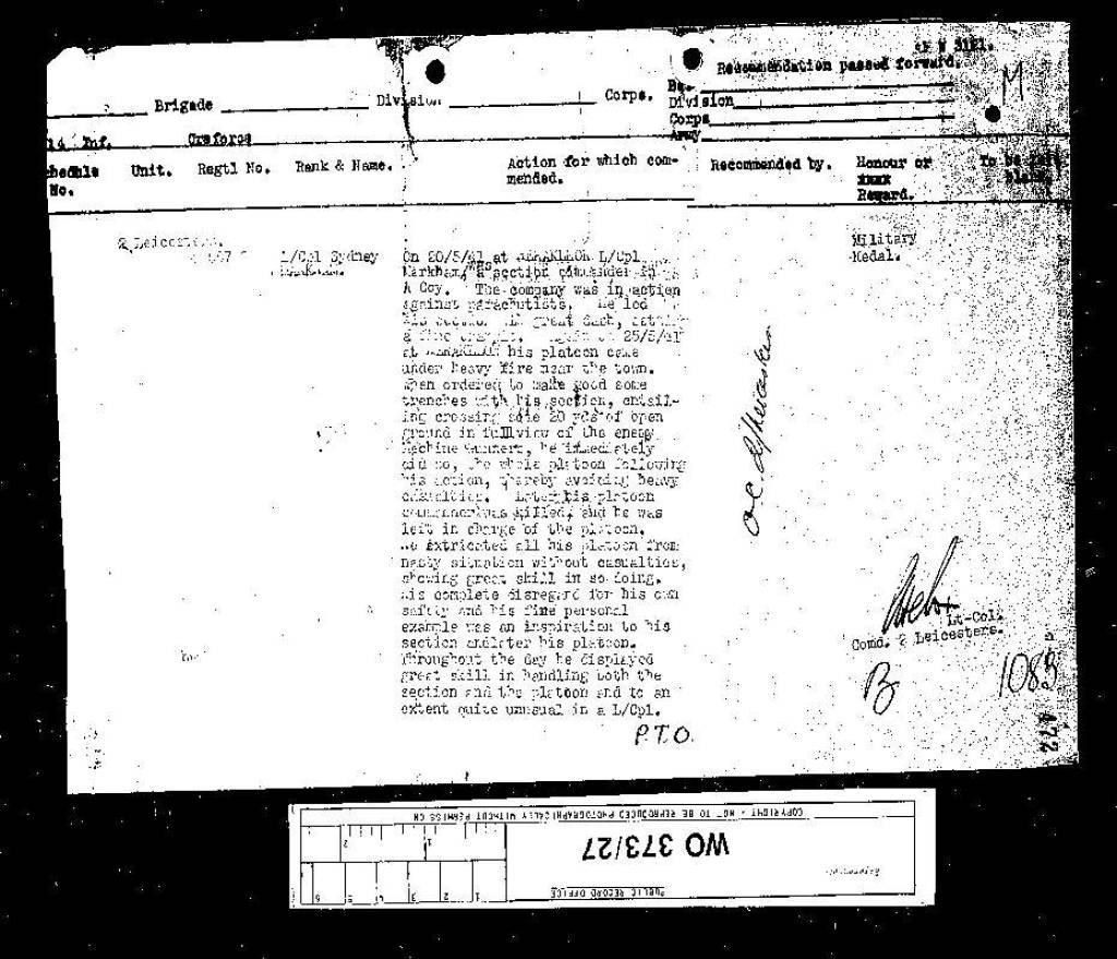 34 Markham MM citation 24 Nov 41-2.jpg