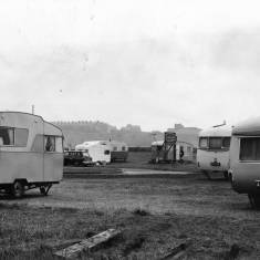 Caravans on the North Foreshaw