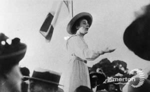 Suffragette Meeting, Wimbledon Common.