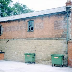 Warehouse with circular upper window, Hereford, c1990