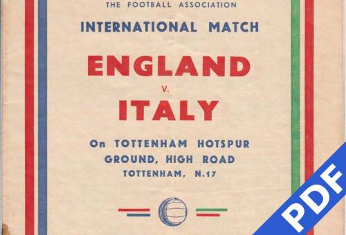 19491130 England Italy