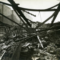 Dacre Street, bomb damage, Blitz