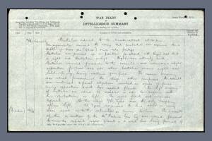 War Diary Extract for the 7th Bedfordshire Regiment on 24 April 1918