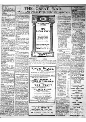 13 JULY 1918