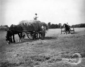 Haymaking on Wimbledon Common