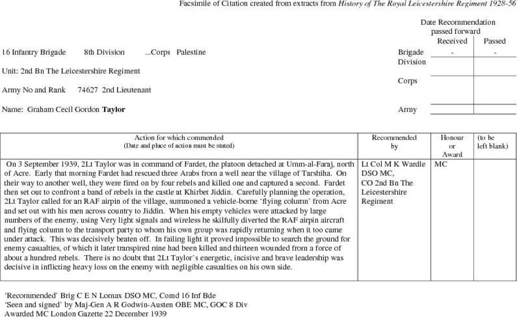 8 Taylor MC citation 22 Dec 39.jpg