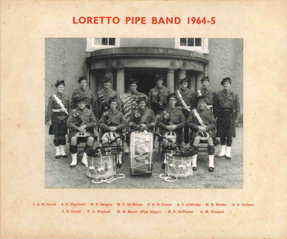 Pipe Band 1964-65