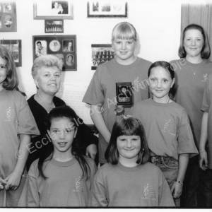 The Junior Melody Makers with Celia Aynsley.