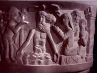 St. Mark's Church,Wimbledon: Stone font