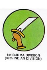 1st Burma Division