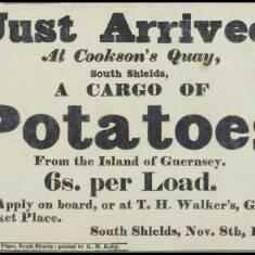 Cargo of Potatoes