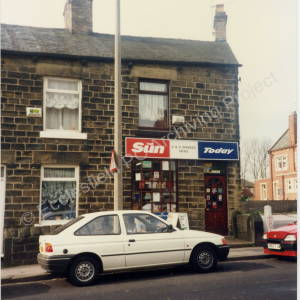 Newsagents on Wortley Road April 1994