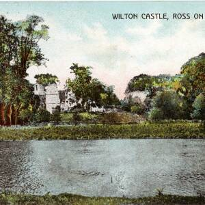 POP020 Wilton Castle, Ross on the Wye, published by H G Bussel Ross on Wye series, c1909.jpg
