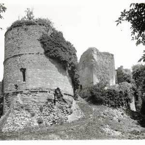 Keep, Goodrich Castle, exterior