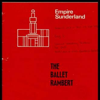 Empire Theatre, Sunderland, October 1970