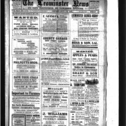 Leominster News - November 1922