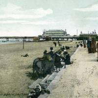 Southport Beach, pavilion, pier